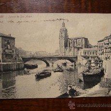 Postales: POSTAL ANTIGUA DE BILBAO - IGLESIA DE SAN ANTÓN - ROMMLER & JONAS DRESDE - 1909. Lote 31042520