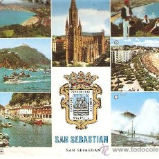 Postales: POSTAL , SAN SEBASTIAN , CIRCULADA CON SELLO . Lote 31146034