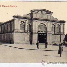 Postales: VITORIA. 4 FOTOTIPIA THOMAS 2709. SIN CIRCULAR. PLAZA DE ABASTOS.. Lote 31249982