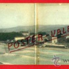 Postales: POSTAL ZARAUZ, GUIPUZCOA, DOBLE, VISTA GENERAL PANORAMICA , P69456. Lote 31301837