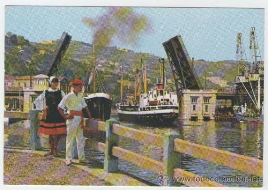 BILBAO - PUENTE BASCULANTE - EDICIÓN GARRABELLA - POSTAL (Postales - España - País Vasco Moderna (desde 1940))