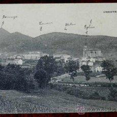 Postales: ANTIGUA POSTAL DE URNIETA (GUIPUZCOA), FOT. L. MAIGNE, NO CIRCULADA.. Lote 31523435