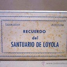 Postales: ALBUM, FOTO, RECUERDO DEL SANTUARIO DE LOYOLA, 10 FOTOS. Lote 31751586