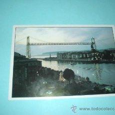 Postales: POSTAL PUENTE DE BIZKAIA, PUENTE COLGANTE VIZCAYA. EL PAÍS VASCO.. Lote 31638987
