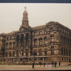 Postales: BILBAO – AYUNTAMIENTO – L. ROISIN FOT. BARCELONA. Lote 31684544