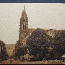 Postales: BILBAO – PLAZA ZABALBURRO Y CALLE HURTADO DE AMEZAGA – L. ROISIN FOT. BARCELONA. Lote 31684701