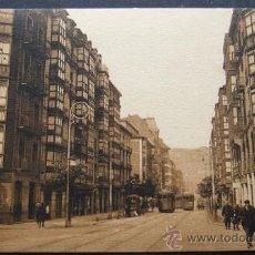Postales: BILBAO – CALLE HURTADO DE AMEZAGA – L. ROISIN FOT. BARCELONA. Lote 31684829
