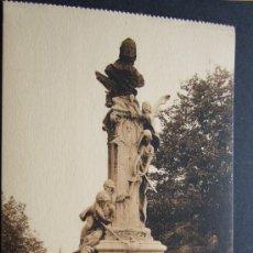 Postales: BILBAO – PLAZA ELÍPTICA. MONUMENTO A LA VDA. DE D. TOMAS EMPALZA – L. ROISIN FOT.. Lote 31685030