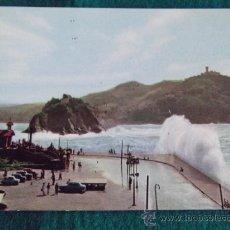 Postales: GUIPUZCUA-GPC1-NO ESCRITA-SAN SEBASTIAN-MAR GRUESA-Nº10-GALARZA-DLB-610/V. Lote 31724169