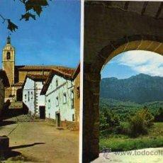 Postales: LAGRÁN MONTE PALOMARES DESDE ERMITA SAN BARTOLOMÉ ED. KEPA DEUNA ESCRITA CIRCULADA SELLO. Lote 31842675