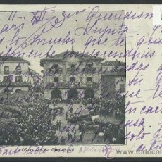 Postales: OÑATE - CASA CONSISTORIAL - FOTO M.Z. - CIRCULADA -VER REVERSO - (10.187). Lote 31853205