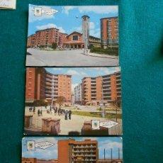 Postales: LOTE 3 POSTALES BARACALDO AÑOS 60. Lote 195375443