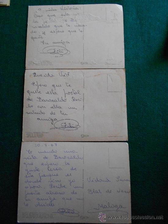 Postales: lote 3 postales baracaldo años 60 - Foto 2 - 195375443