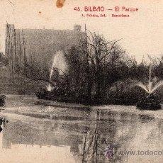 Postcards - BILBAO, EL PARQUE, L. ROISIN, 1951 - 31950011