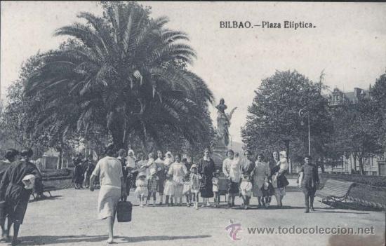 BILBAO (VIZCAYA).- PLAZA ELIPTICA (Postales - España - Pais Vasco Antigua (hasta 1939))