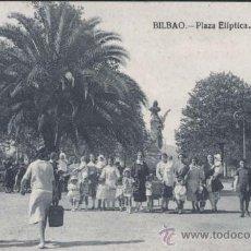 Postales: BILBAO (VIZCAYA).- PLAZA ELIPTICA. Lote 32080149