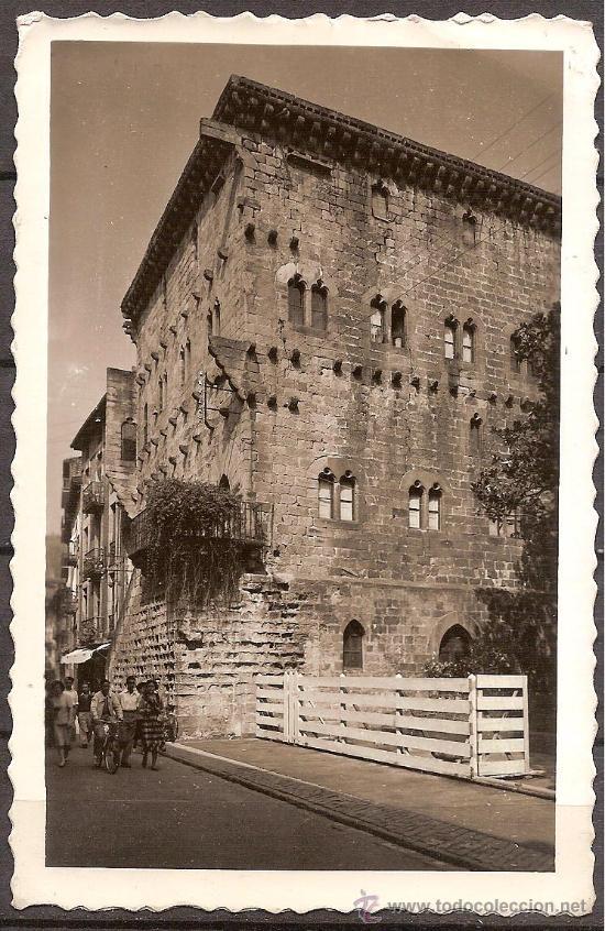 GUIPUZCOA,ZARAUZ,TORRE LUCEA,POSTAL ANTIGUA,ESCRITA. (Postales - España - País Vasco Moderna (desde 1940))