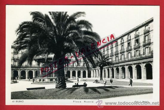 POSTAL, BILBAO, VIZCAYA, PLAZA NUEVA, P69943 (Postales - España - Pais Vasco Antigua (hasta 1939))