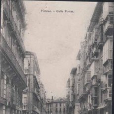 Postales: VITORIA (ÁLAVA).- CALLE POSTAS. Lote 32235658