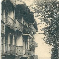 Postales: 0731B - FUENTERRABIA -CALLE DEL NORTE - ANTIGUA POSTAL EDIC M.D. - CIRCULADA 1921. Lote 32296429