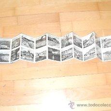 Postales: DEPLEGABLE DE 10 POSTALES DE SAN SEBASTIAN. 20 FOTOS.. Lote 32310038
