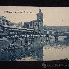 Postales: POSTAL BILBAO. MERCADO DE SAN ANTÓN. L.G. VIZCAYA.. Lote 32329558