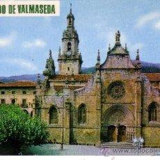 Postales: VALMASEDA - VIZCAYA - IGLESIA DE SAN SEVERIANO. Lote 32451586