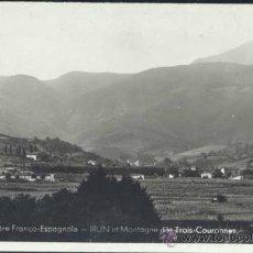 Postales: IRÚN (GUIPUZCOA).- MONTAÑA DE LAS TRES CORONAS. Lote 32402798