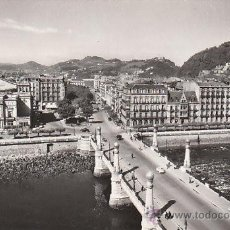 Cartoline: SAN SEBASTIAN, PASEO DE LOS FUEROS, PUENTE DEL KURSAAL, EDITOR: POSTAL MADRID Nº 12. Lote 32422525