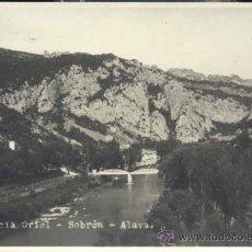 Postales: SOBRON (ÁLAVA).- RESIDENCIA ORIOL -FOTOGRAFICA. Lote 32578604