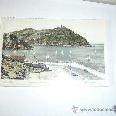 Postales: SAN SEBASTIAN REGATAS DE BALANDROS POSTAL FOTOGRAFICA CIRCULADA 1955. Lote 32737269