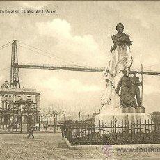 Postkarten - ANTIGUA POSTAL DE PORTUGALETE - BILBAO - ESTATUA DE CHAVARRI - 32981220