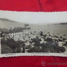 Postales: POSTAL FUENTERRABIA O HONDARRIBIA PARQUE DE LA MARINA Y GRAN HOTEL ESCRITA SIN SELLO P-1352. Lote 33121990