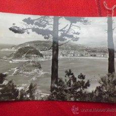 Postales: POSTAL SAN SEBASTIAN VISTA DESDE IGUELDO S/C P-1386. Lote 33212508