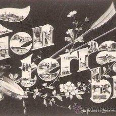 Postales: RARISIMA POSTAL FUENTERRABIA - HONDARRIBIA - GUIPUZCOA - AU PALAIS DE CRISTAL HENDAYE. Lote 33235935
