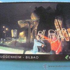 Cartoline: POSTAL DE BILBAO, VIZCAYA. AÑOS 2000. MUSEO GUGGENHEIM. 1057. . Lote 33337876