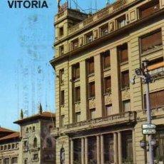 Postales: VITORIA CALLE POSTAS GARRIDO ESCRITA CIRCULADA SELLOS. Lote 33521791