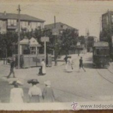 Postales: TARJETA POSTAL BLANCO Y NEGRO BILBAO-LAS ARENAS. Lote 33527727