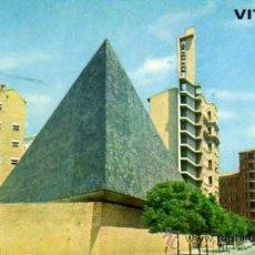 Postales: VITORIA IGLESIA DE NTRA. SRA. DE LOS ÁNGELES GARRIDO ESCRITA CIRCULADA SELLO. Lote 33541126