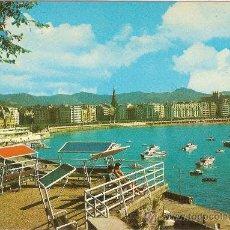 Postales: SAN SEBASTIAN, VISTA DESDE EL MONTE URGULL - FOTO COLOR GALARZA - SIN CIRCULAR. Lote 33644491