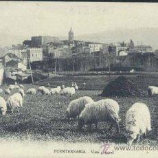 Postales: FUENTERRABÍA (GUIPUZCOA).- VISTA GENERAL. Lote 33713374