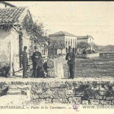 Postales: FUENTERRABÍA (GUIPUZCOA).- PUESTO DE LOS CARABINEROS. Lote 33713396