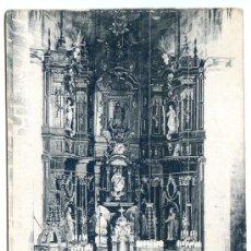 Postales: GUERNICA. ALTAR MAYOR DE LA PARROQUIA DE SANTA MARÍA. GOITICA Y COMP. IMPRENTA Y LIBRERÍA. Lote 33964910