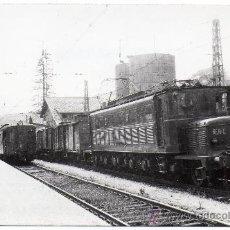 Cartoline: ZUMARRAGA,GUIPUZCOA,1955,ESTACION FERROVIARIA, FOTOGRAFICA, SCHNABEL. Lote 33969104