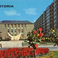 Postales: VITORIA PLAZA JUAN DE AYALA GARRIDO ESCRITA CIRCULADA SELLO. Lote 33979961