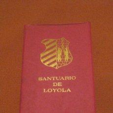 Postales: DESPLEGABLE DE POSTALES DEL SANTUARIO DE LOYOLA. Lote 33987607