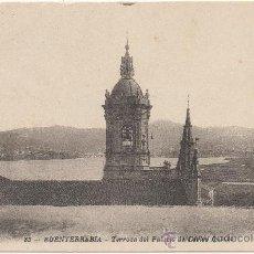 Postales: FUENTERRABIA.- TERRAZA DEL PALACIO DE CARLOS QUINTO.. Lote 34043027