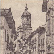 Postales: FUENTERRABIA.- CALLE MAYOR. (C.1925).. Lote 34043331