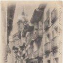 Postales: FUENTERRABIA.- CALLE MAYOR. (C.1900).. Lote 34043595