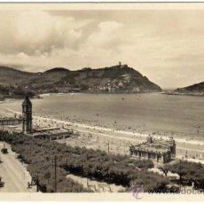 Postales: BONITA POSTAL - SAN SEBASTIAN - BALNEARIO DE LA PERLA - MUY AMBIENTADA . Lote 34071600